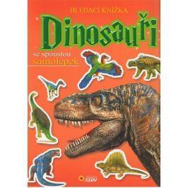 Dinosauři - Hledací knížka se spoustou samolepek