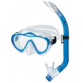 Mares Sada SHARKY (dětská maska + šnorchl), Mares, trans./modrá