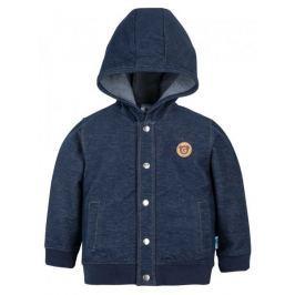 G-mini Chlapecký kabátek Plus - modrý, 56 cm