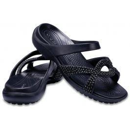 Crocs Meleen Twist Diamante Sandal Black/Black W6 (36,5)