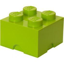 LEGO Úložný box 250x250x180 mm světle zelená