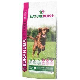 Eukanuba Nature Plus+ Puppy & Junior Rich in freshly frozen Lamb 14kg