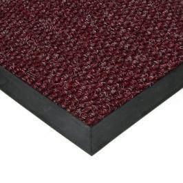 FLOMAT Červená textilní zátěžová vstupní čistící rohož Fiona - 50 x 80 x 1,1 cm