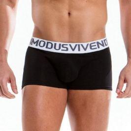 Modus Vivendi boxerky pánské černé Weekly Boxer 18521 - Velikost: M