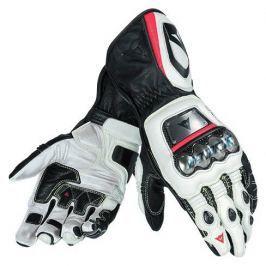 Dainese rukavice FULL METAL D1 vel.S černá/bílá/fluo červená (pár)