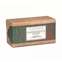 Fikkerts Peelingové mýdlo Rozmarýn a mateřídouška (Exfoliating Rosemary & Lemon Thyme Soap) 85 g
