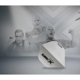 XQMax Darts Letky Transparent White F2513