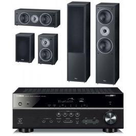 Yamaha HTR-4071 + Magnat Monitor Supreme 802 set, černá
