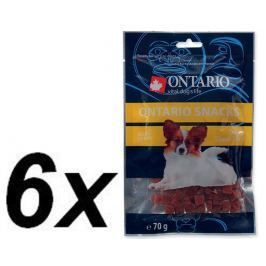 Ontario Snack Duck Dice Small dog 6 x 70g