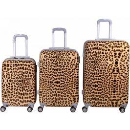 Leonardo Sada kufrů Leopard Print - II. jakost