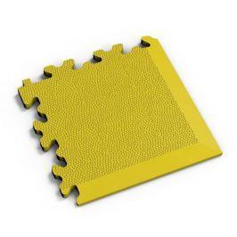 Fortelock Žlutý plastový vinylový rohový nájezd 2026 (kůže) - 14 x 14 x 0,7 cm