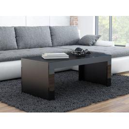 Konferenční stolek TESS, černý mat/černý lesk