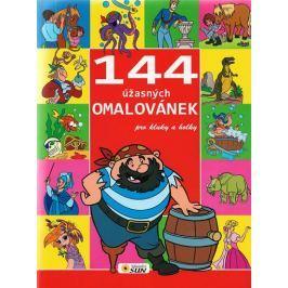 144 úžasných omalovánek