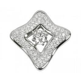 Silver Cat Stříbrný přívěsek s krystaly SC068 stříbro 925/1000
