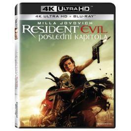 Resident Evil: Poslední kapitola  (2 disky)   - Blu-ray + 4K ULTRA HD