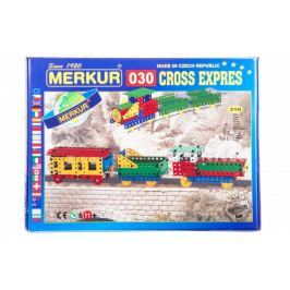 Merkur Stavebnice 030 Cross expres 10 modelů 310ks