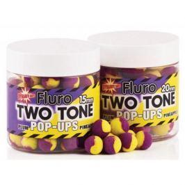 Dynamite Baits Boilies Fluoro Two Tone Pop-Ups Plum & Pineapple 20 mm