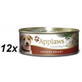 Applaws Konzerva Dog - kuřecí prsa 12 x 156g
