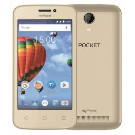 myPhone POCKET, zlatý