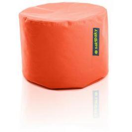 SakyPaky Sedací vak Taburet oranžová