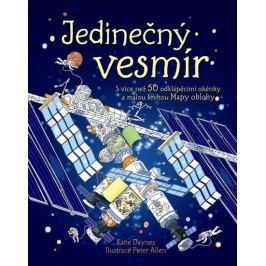 Daynes Katie: Jedinečný vesmír s více než 50 odklápěcími okénky a malou knihou Mapy oblohy