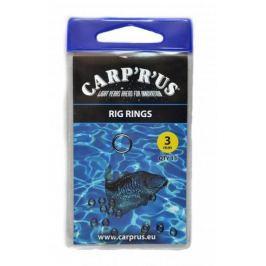 Carp ´R´ Us Carp 'R' us kroužky na návazce rig rings 3 mm 15 ks