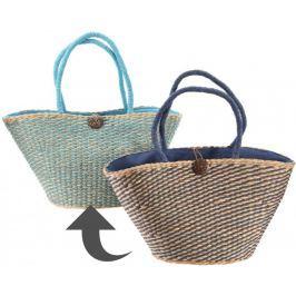 Kaemingk Slámová taška, světle modrá