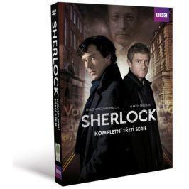 Sherlock - III. série: kolekce (3DVD) - DVD