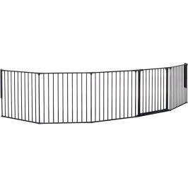 BabyDan Prostorová zábrana New Flex XXL 90-350 cm, černá