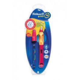 Pelikan Bombičkové pero pro praváky Griffix 4 červené