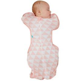 LOVE TO DREAM Swaddle Up Lite Bamboo, 6-8,5 kg - Coral