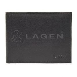 Lagen Pánská černá kožená peněženka Black V-3