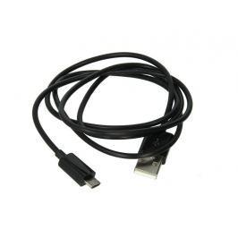 EXTREME STYLE Univerzální kabel USB - micro USB, USB 1.0 a 2.0, černý, 100 cm