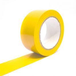 Žlutá vyznačovací podlahová páska Standard - 33 m x 5 cm