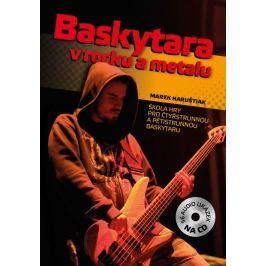 KN Baskytara v rocku a metalu + CD Škola hry na baskytaru