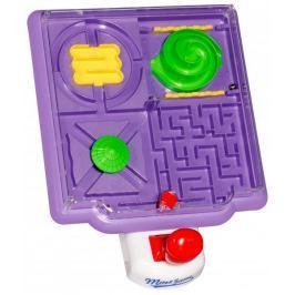Eddy Toys Stolní hra Maze game, fialová
