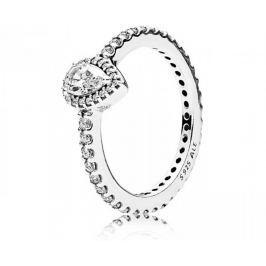 Pandora Třpytivý stříbrný prsten 196254CZ (Obvod 52 mm) stříbro 925/1000