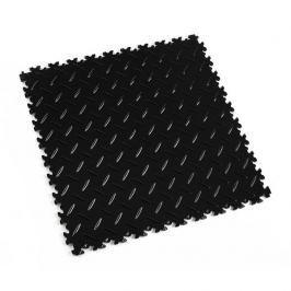 Fortelock Černá plastová vinylová dlaždice Light 2050 (diamant) - 51 x 51 x 0,7 cm