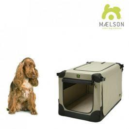 Maelson Přepravka Soft Kennel černá / béžová vel. 72