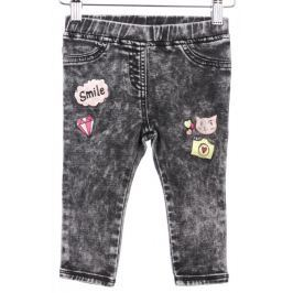 Primigi dívčí jeansy 86 černá