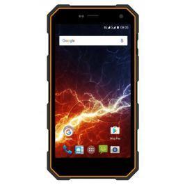 myPhone HAMMER ENERGY 3G, Dual SIM, oranžovo-černý