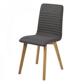 Design Scandinavia Jídelní židle Areta (SET 2 ks), antracitová