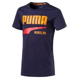 Puma STYLE Graphic Tee Peacoat 140