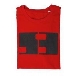 MFF Karlovy Vary pánské červené tričko S