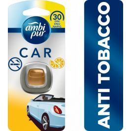 Ambi Pur Car Anti Tobacco Připínací osvěžovač vzduchu do auta 1 ks