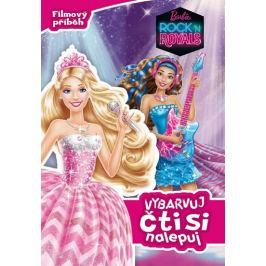Mattel: Barbie RocknRoyals - Filmový příběh - Vybarvuj, čti si, nalepuj