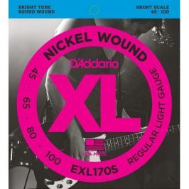 Daddario EXL170S Struny pro baskytaru