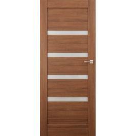 VASCO DOORS Interiérové dveře EVORA kombinované, model 4, Merbau, A