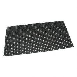 Černá gumová čistící venkovní vstupní rohož Octomat Mini - 100 x 50 x 1,4 cm