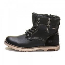 Tom Tailor pánská kotníčková obuv 41 černá